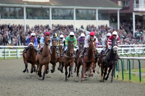 All-Weather Championships Finals Day attracted almost 9,000 people to Lingfield on Good Friday 2014. Pic: Courtesy ARC.