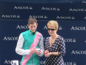 The St James's Palace Stakes at Royal Ascot is the immediate target for Kingman and jockey James Doyle.
