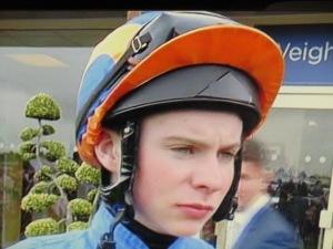 Joseph O'Brien rides Australia, the odds-on favourite for the Investec Derby