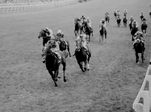 Hot favourite Crepello provided Lester Piggott with the second of his nine Derby wins when scoring in 1957.