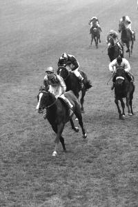 Lester Piggott secured the first of his nine Epsom Derby wins 60 years ago, when Never Say Die beat Adrian Night and Darius. Pic: courtesy of Great British Racing.