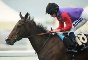 Estimate and Ryan Moore win the 2013 Gold Cup at Royal Ascot Pic: Edward Whitaker (Courtesy of Great British Racing).