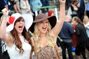 Fontwell Park Ladies Day. Pic: Jim Holden (Courtesy of Arena Racing Company).