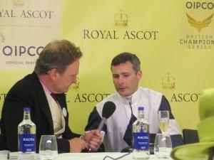Jockey Pat Smullen at Royal Ascot.