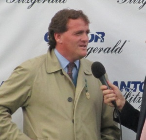 Trainer Richard Hannon.