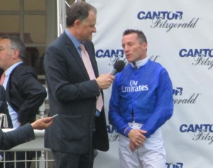 Kieren Fallon rode Cavalryman to victory in the Artemis Goodwood Cup.