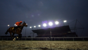 Kempton host three evening and one afternoon meeting between Tuesday and Saturday. Pic: Dan Abraham (Courtesy of Kempton Park).