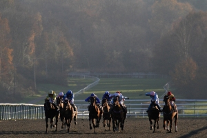 Lingfield Park staged the first all-weather meeting in Britain in 1989. Pic: Courtesy of ARC.