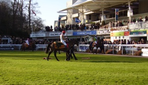 The national hunt season is in full swing at Sandown Park.