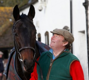 Nicky Henderson is a regular visitor with a great success rate at Huntingdon. Pic: Dan Abraham - racingfotos.com