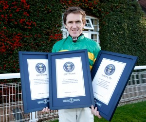 Champion jockey AP McCoy has broken records throughout his sublime career.