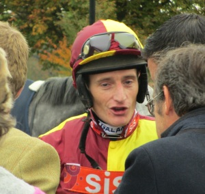 Daryl Jacob won the 2012 Grand National on Neptune Collonges.