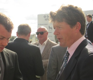 Andrew Balding hopes for a big run from Elm Park at York.