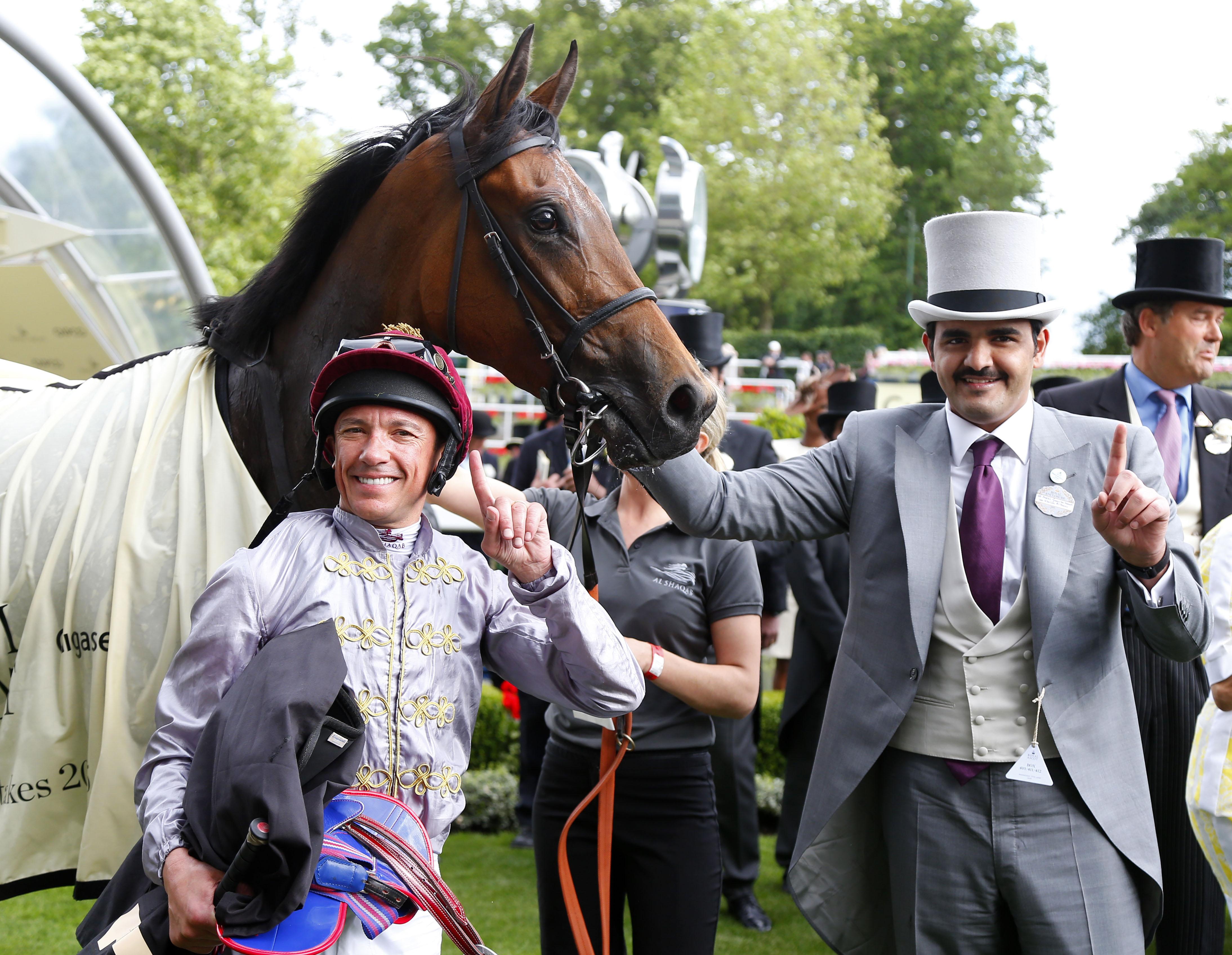 Royal Ascot 2015 Frankie Dettori Rides 50th Winner At