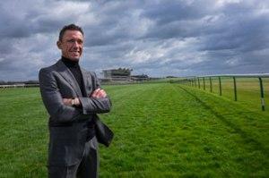 Frankie Dettori at Newmarket. (Pic: Courtesy of Jockey Club Racecourses).