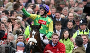 Kauto Star and Ruby Walsh. (Pic: Courtesy of Paddy Power).