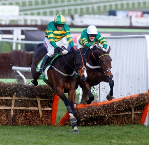 Jezki - 2014 World Hurdle - McCoy on board My Tent or Yours - cRacingfotos