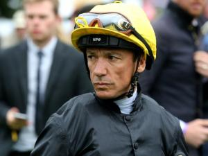 Dettori after winning Cup on Stradivarius